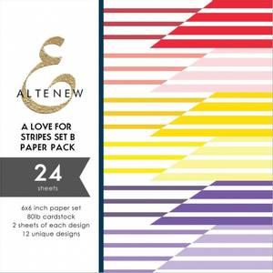 Bilde av Altenew A Love for Stripes Set B Paper Pack