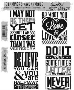 Bilde av Stampers Anonymous Motivation 3 Stamp Set
