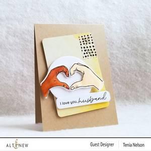 Bilde av Altenew A Little Bit of Love Stamp & Die &
