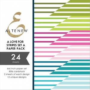 Bilde av Altenew A Love for Stripes Set A Paper Pack