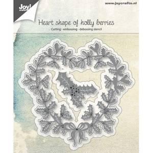Bilde av Joy! crafts Heart Shape of Holly Berries dies