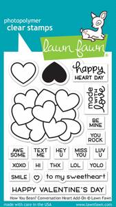Bilde av Lawn Fawn How You Bean? Conversation Heart Add-On