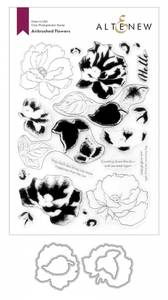 Bilde av Altenew Airbrushed Flowers Stamp & Die Bundle