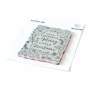 Bilde av Pinkfresh Studio Merry Little Christmas Cling