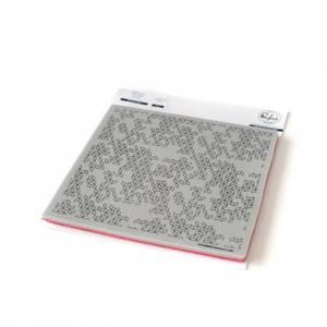 Bilde av Pinkfresh Studio Abstract cube cling rubber stamp