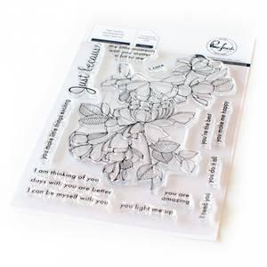 Bilde av Pinkfresh Studio Just because stamp set