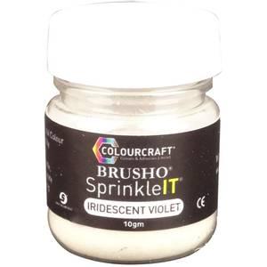 Bilde av Colourcraft Brusho SprinkleIT Iridescent Violet