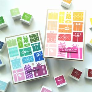Bilde av Pinkfresh Studio Gift Boxes Cling Stamp