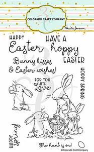 Bilde av 3C/ Anita Jeram - Happy Easter stamp set