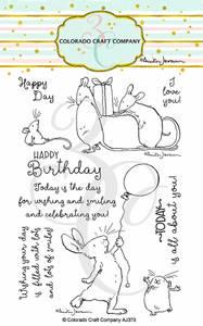 Bilde av 3C/ Anita Jeram - Birthday Wishing stamp set