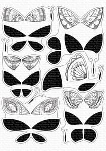 Bilde av MFT Brilliant Butterflies dies