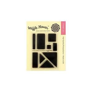 Bilde av Waffle Flower Color Combos for Inkpads Stamp Set