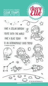 Bilde av Avery Elle Astronauts Clear Stamps