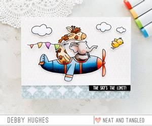 Bilde av Neat & Tangled So Fly Stamp Set