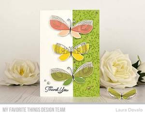 Bilde av MFT Brilliant Butterflies stamp set