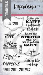 Bilde av Papirdesign Kaffekos stempel