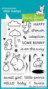 Bilde av Lawn Fawn Hello Baby Stamp Set