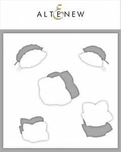 Bilde av Altenew Basic Blooms Mask Stencil