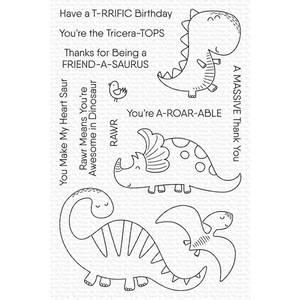 Bilde av MFT A-roar-able Friends stamp set