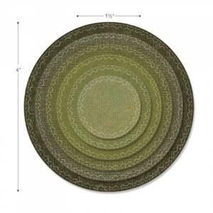 Bilde av Sizzix Framelits Stitched Circles dies