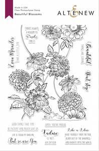 Bilde av Altenew Beautiful Blossoms Stamp Set