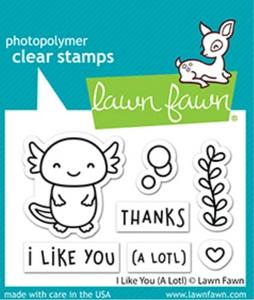 Bilde av Lawn Fawn I Like You (A Lotl) Stamp Set