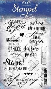 Bilde av Papirdesign God bedring Stempel