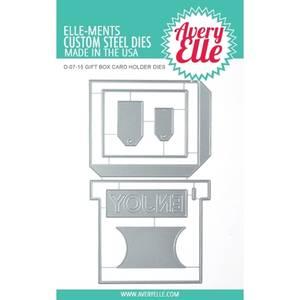 Bilde av Avery Elle Gift Box Card Holder Die