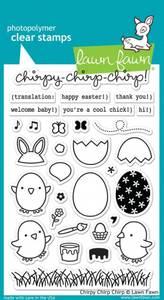 Bilde av Lawn Fawn Chirpy Chirp Chirp Stamp Set