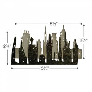 Bilde av Sizzix Thinlits Cityscape, Skyline dies