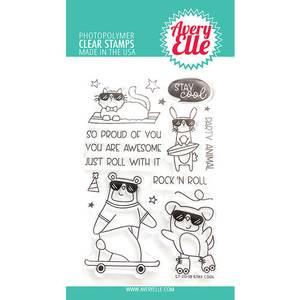 Bilde av Avery Elle Stay Cool Clear Stamps