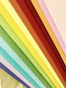 Bilde av Picket Fence Studios Slimline Rainbow Envelopes