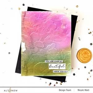 Bilde av Altenew Beautiful Bergenia 3D Embossing Folder