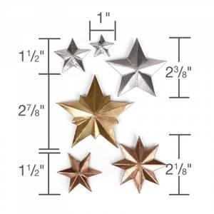 Bilde av Sizzix Thinlits Dimensional Stars dies