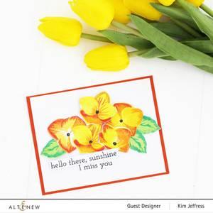 Bilde av Altenew Basic Blooms Stamp Set