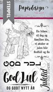 Bilde av Papirdesign Julebukk Stempel