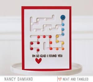 Bilde av Neat & Tangled A-mazing Stamp Set