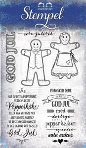 Bilde av Papirdesign Pepperkaker Stempel