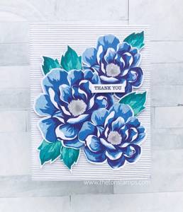 Bilde av The Ton Basic Stripes Cling Background stamp