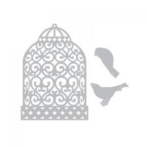 Bilde av Sizzix Thinlits Birdcage dies