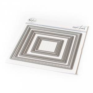 Bilde av Pinkfresh Studio Diagonal Stitched Squares die