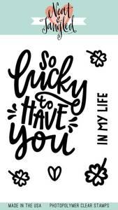 Bilde av Neat & Tangled So Lucky Stamp Set