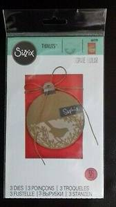 Bilde av Sizzix Thinlits Festive Bird dies