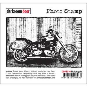 Bilde av Darkroom Door Photo Stamp - Motorcycle