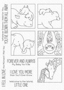 Bilde av MFT I'll Love You Forever stamp set