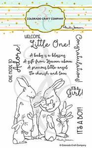 Bilde av 3C/ Anita Jeram - New Baby stamp set