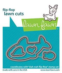 Bilde av Lawn Fawn Duh-Nuh Flip-Flop Dies