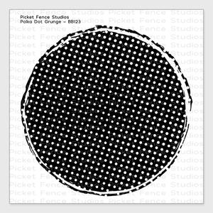 Bilde av Picket Fence Studios Polka Dot Grunge