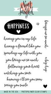 Bilde av Neat & Tangled Happiness Stamp Set