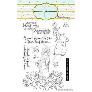 Bilde av 3C/ Anita Jeram - 4 Leaf Clover stamp set
